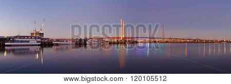 Bolte Bridge Melbourne Panorama