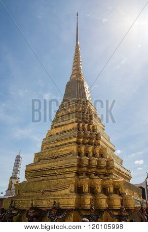Stupa Inside Grand Palace
