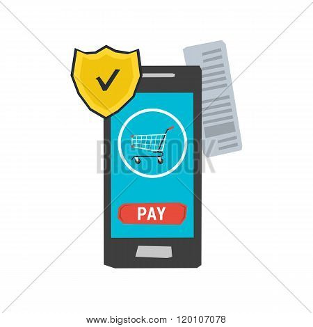 icon mobile safe payment