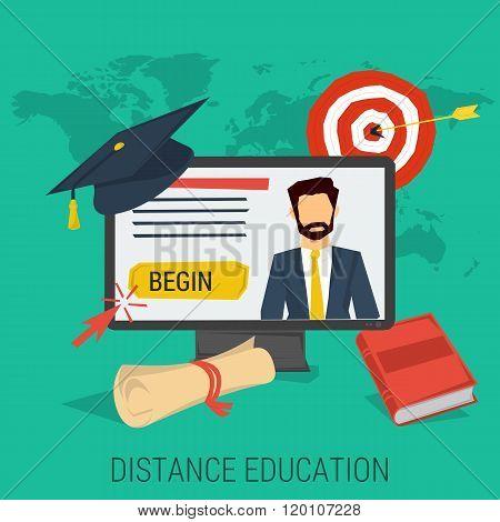 DISTANCE EDUCATION CONCEPT