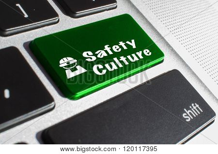 Safety culture keyboard