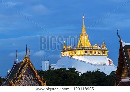 Golden Mount Temple Or Wat Sarket, Bangkok, Thailand