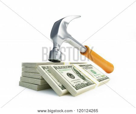 Claw Hammer Dollar