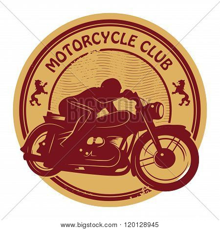 Vintage Motorcycle Label