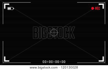 Viewfinder Digital Video Camera