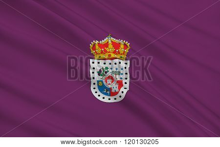 Flag Of Soria Is A Province Of Central Spain