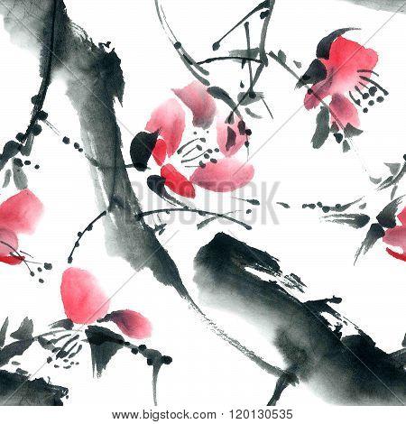 Blossom Tree Pattern