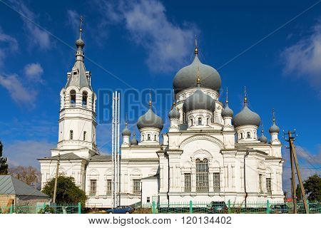 Church of the Nativity. Anna. Russia