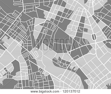 grey map seamless