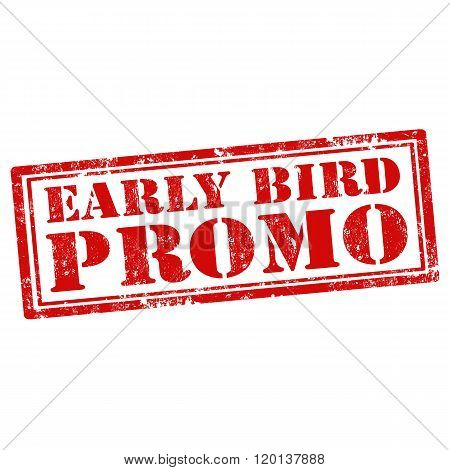 Early Bird Promo-stamp