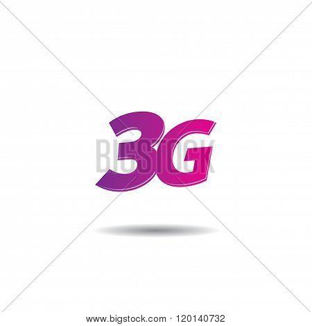 3G Internet Vector Logo Template