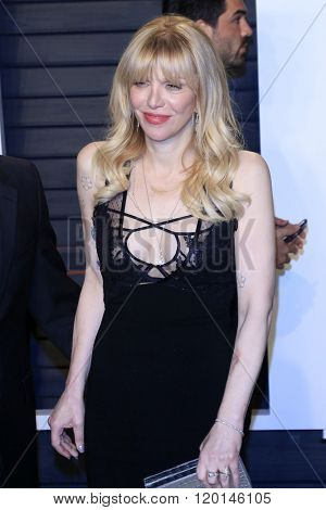 LOS ANGELES - FEB 28:  Courtney Love at the 2016 Vanity Fair Oscar Party at the Wallis Annenberg Center for the Performing Arts on February 28, 2016 in Beverly Hills, CA