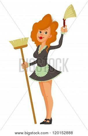 Maid And Cleaning Tools