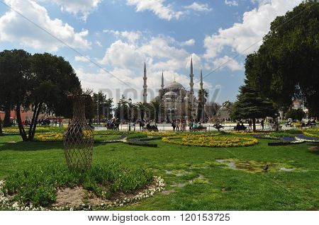 A panorama Of Istanbul Turkey