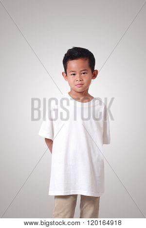 Little Asian Boy Smiling
