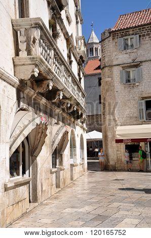 Medieval Historical Centre Of Split, Croatia