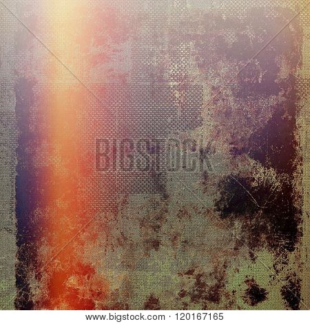 Colorful designed grunge background. With different color patterns: yellow (beige); red (orange); purple (violet); gray; pink