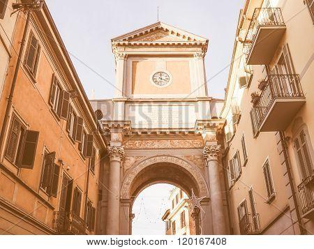 Chieri Triumphal Arch Vintage