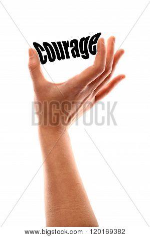 Smaller Courage Concept