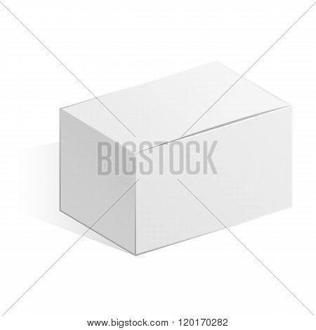 White oblong box.