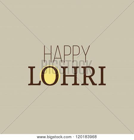 happy lohri background