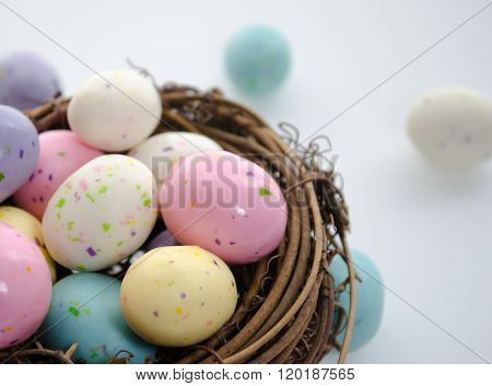 Speckled Candy Easter Eggs
