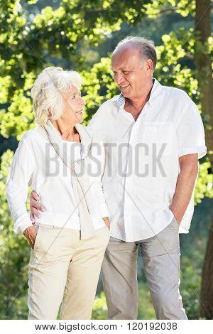 Amorous Senior Marriage