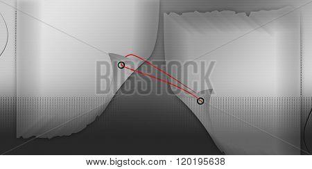 Two Peeled Wedding Digital Album Background