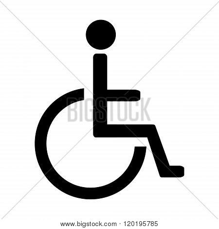 Disabled Sign Vector