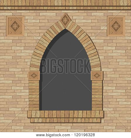 Brick Arch Opening
