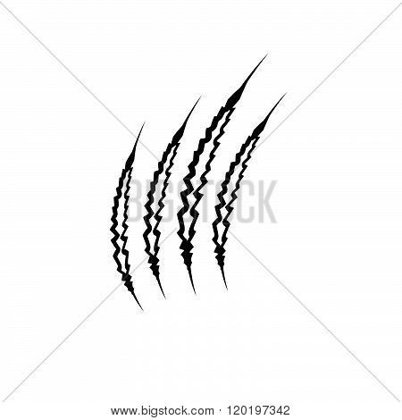Claws Marks . Concept Of Graphic Clipart Work