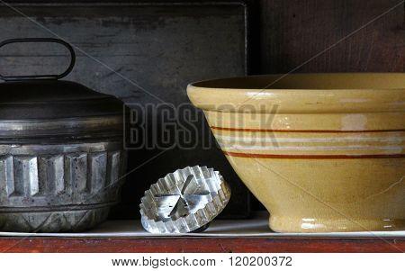 Vintage pantry tools