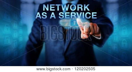 Solution Provider Pressing Network As A Service