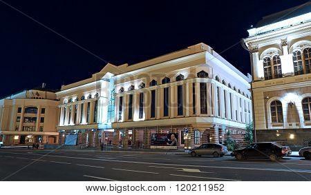 State Grand Concert Hall Named Salih Saidashev