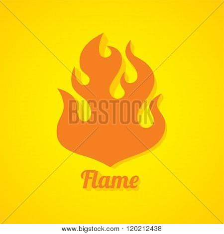 Flaming Fire Theme