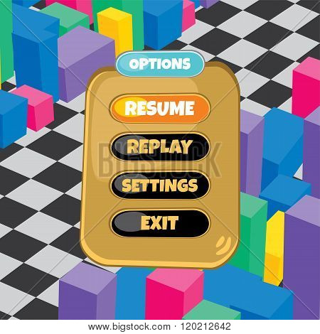 Game Asset Menu Theme