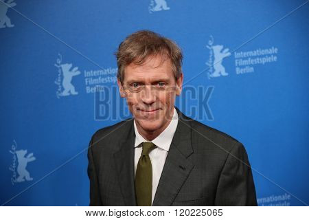 Berlin, Germany - February 18, 2016 - Actor Hugh Laurie attends the 'The Night Manager' premiere during the 66th Berlinale International Film Festival