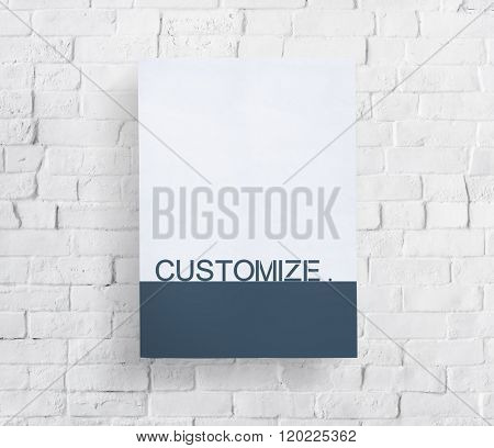 Customize Custom Creativity Banner Concept
