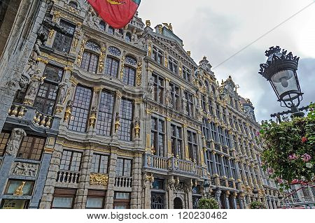 Buildings From Historic Center Of Brussels, Belgium 2