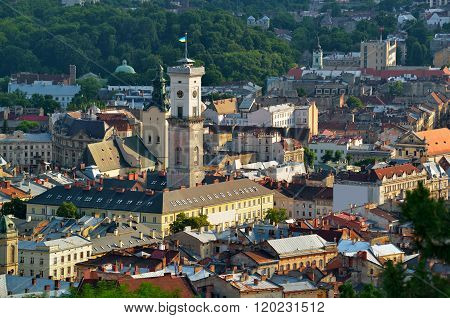 Historic City Center Of Lviv