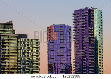 High Rise Residential Buildings Docklands
