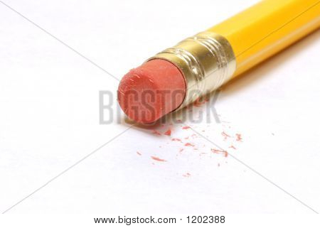 Pencil Eraser With Dust