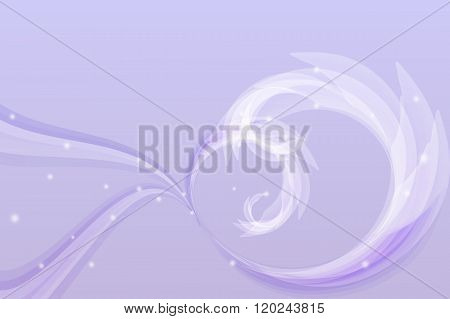 Purple Abstract Lines Background