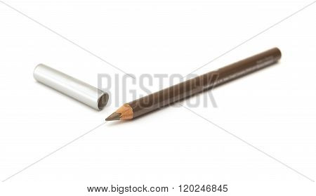 Brown Eyeliner Isolated