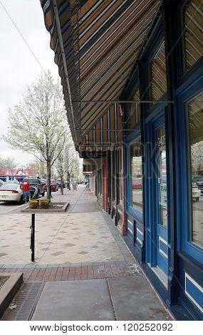 Downtown Plainfield Illinois