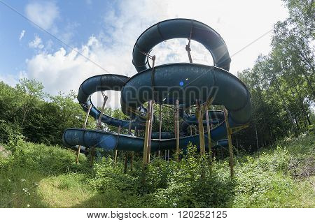 Abandoned Water Slide