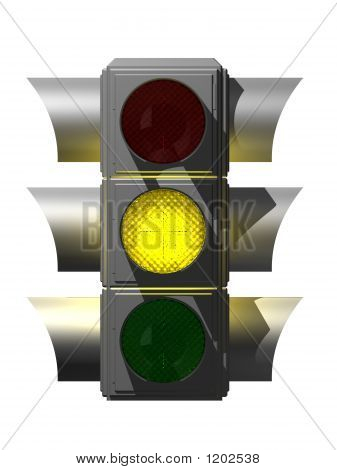 Silver Traffic Light