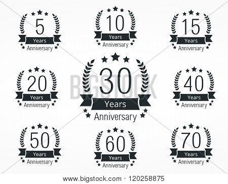 Anniversary Emblems