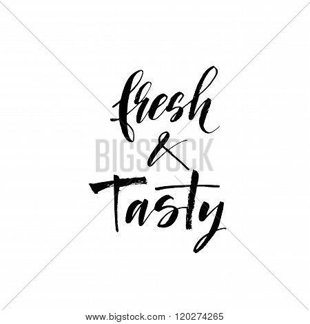 Fresh And Tasty Card.