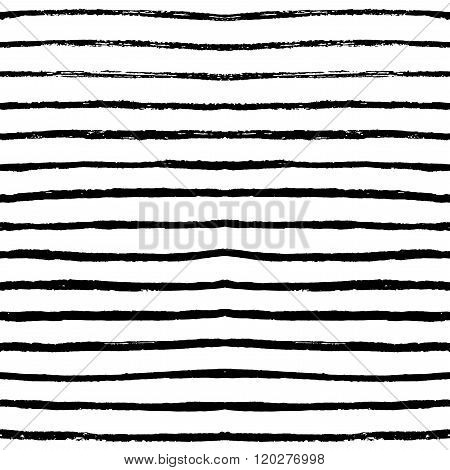 Hand Drawn Vector Seamless Pattern.